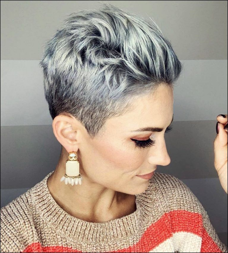 21 Beautiful And Short Hairstyles For Summer 2019 2020 Trend Ad 1 21 Schon Und Kurze Frisuren Fur Den S In 2020 Thick Hair Styles Short Hair Color Pixie Haircut