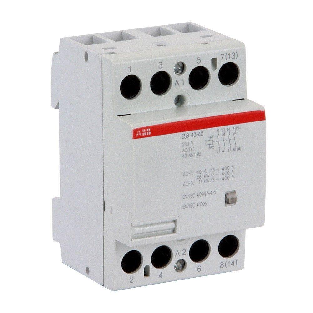 Contacteur Abb 230 V 40 A Products En 2019 Contacteur