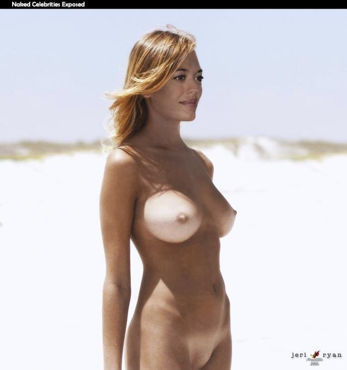 Jeri ryan star trek naked nude