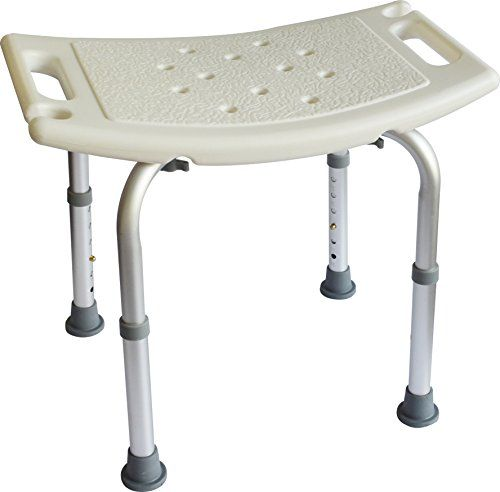 shower tub bench chair van design balancefrom adjustable height bath with non slip seat and feet