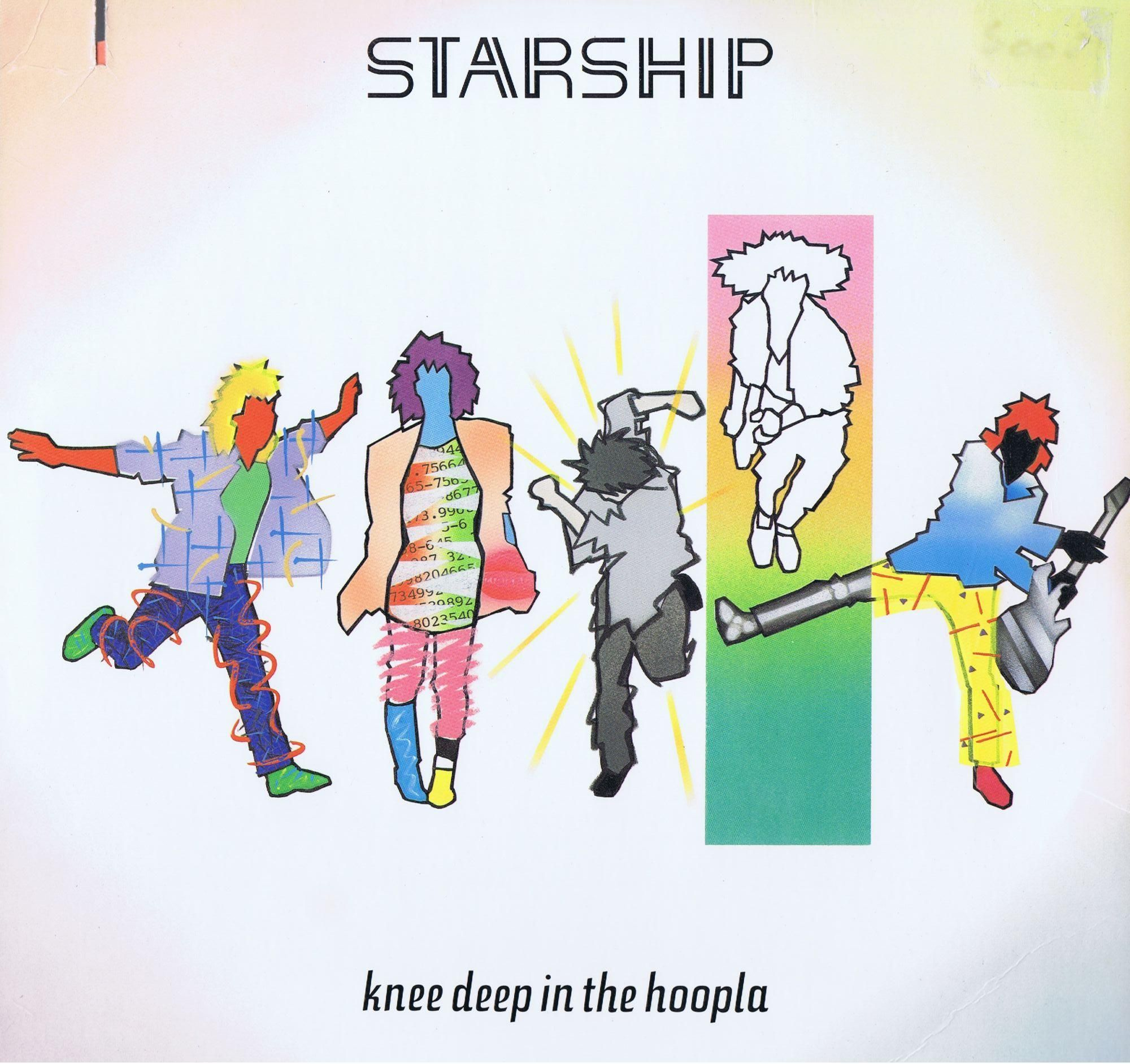 Image result for starship covers we built this city
