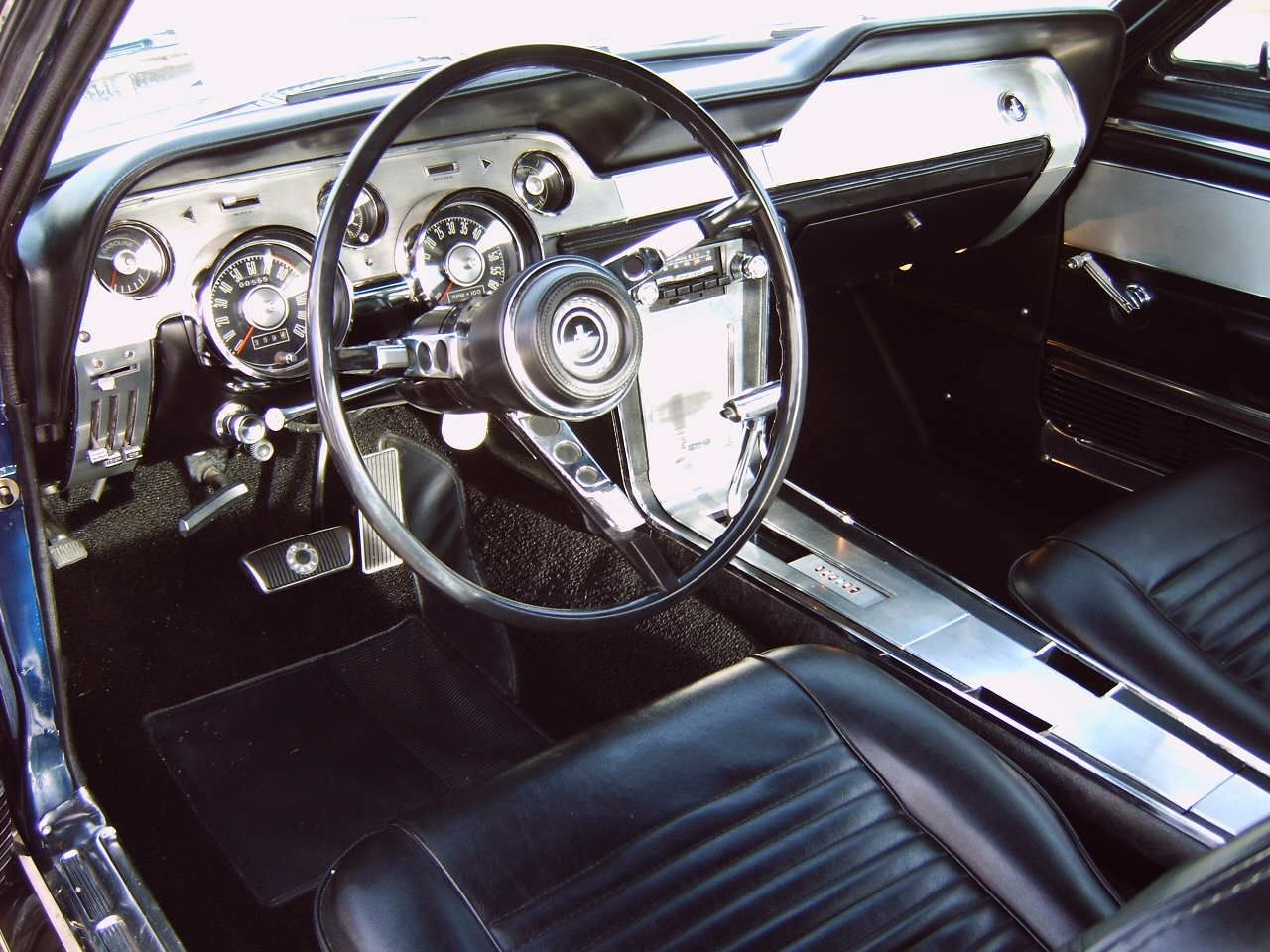 1967 Ford Mustang Gt Fastback Mustang Interior Ford Mustang