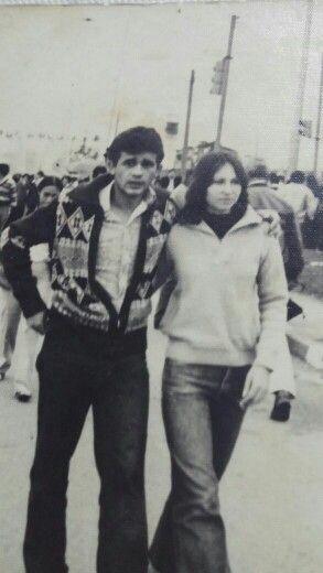Pai e mãe lindos... Foto antiga é linda.