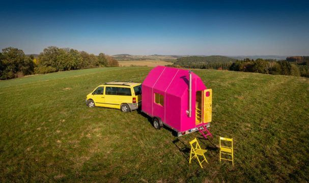 Magenta Tiny House Plans #compactliving