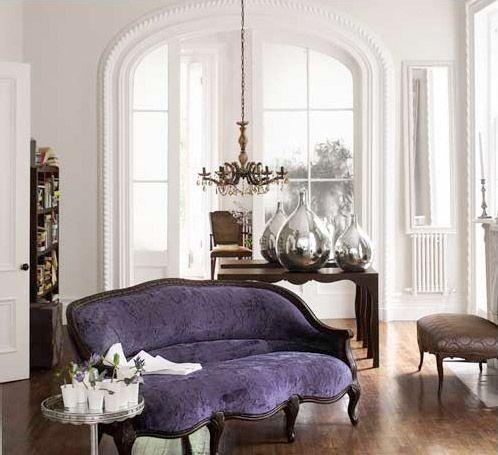 Interior Interior Purple Furniture Decor