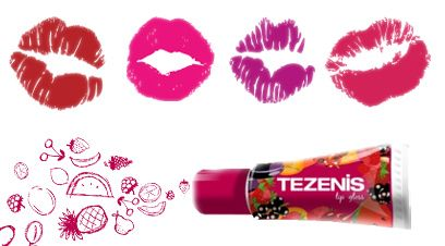 Colorful, aromatic and ...great tasting! The latest in Tezenis brand lip gloss for a completely kissable summer!