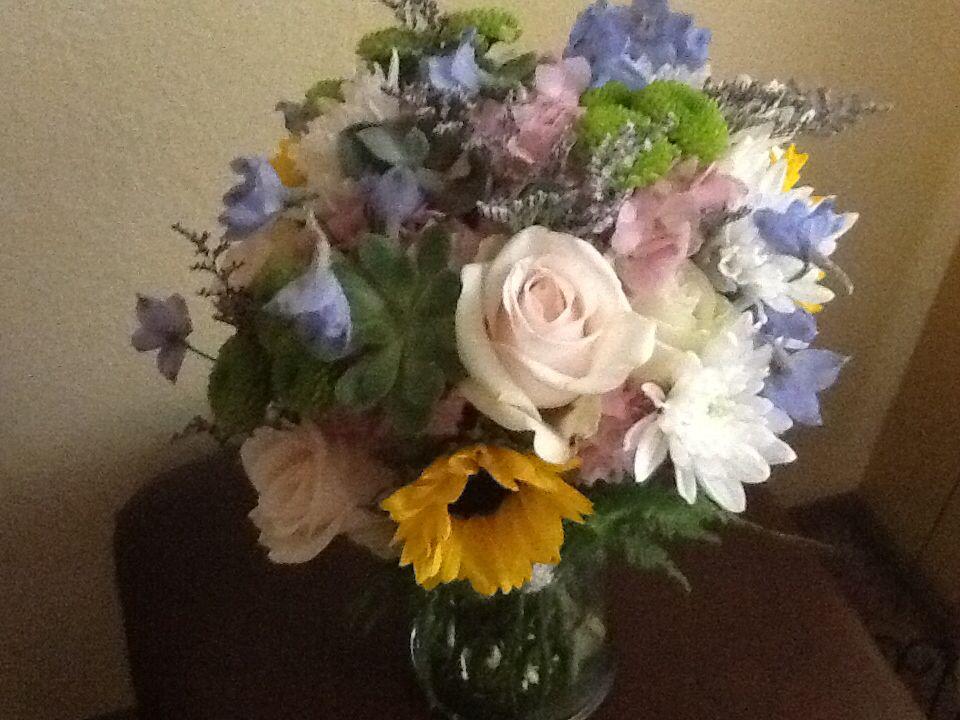 Lindsey's wedding bouquet