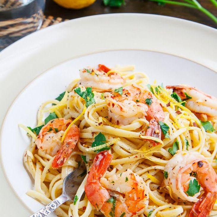 Shrimp Scampi Recipe Main Dishes with linguine, olive oil ...