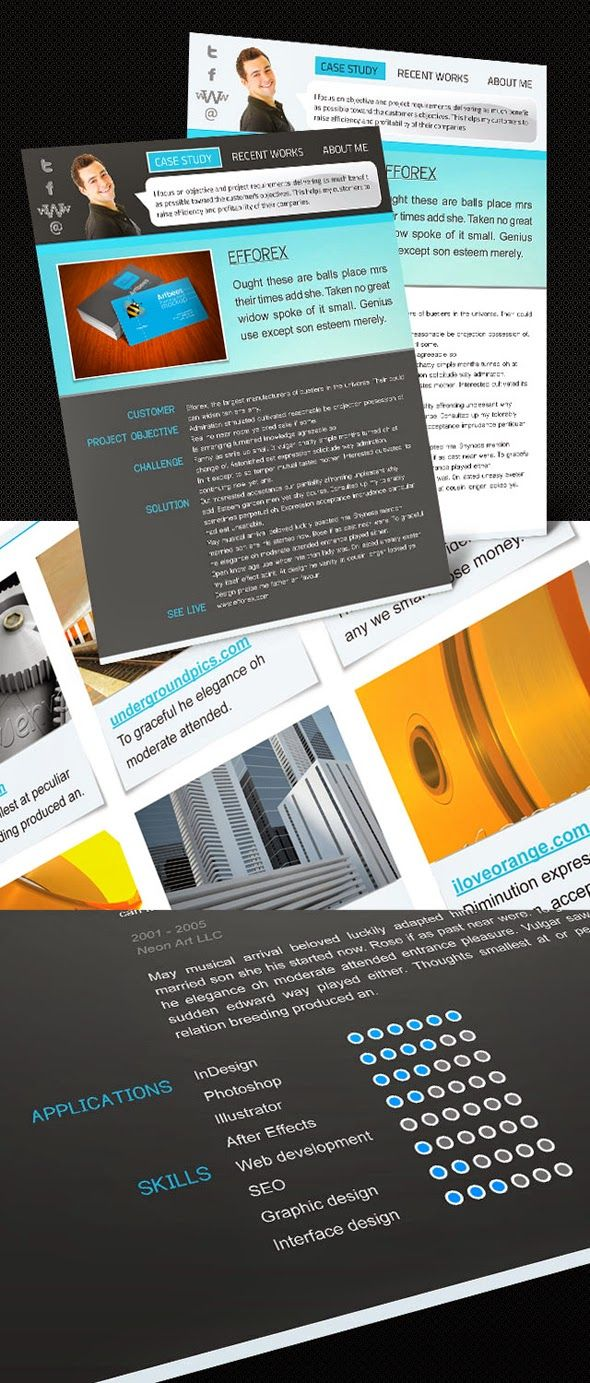 Best and free resource for Indesign cs5 Resume Example Templates ...