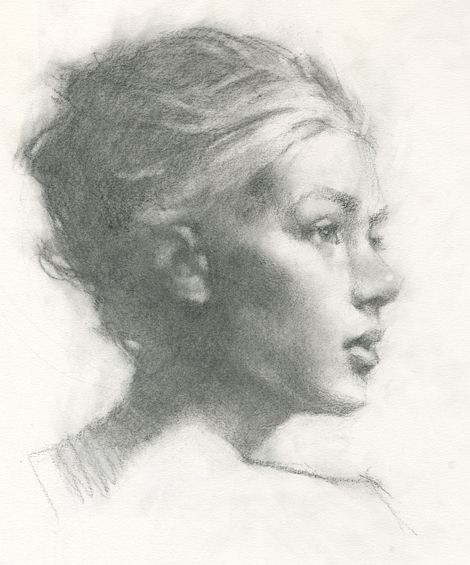 Charcoal Sketch - Jeff Haines