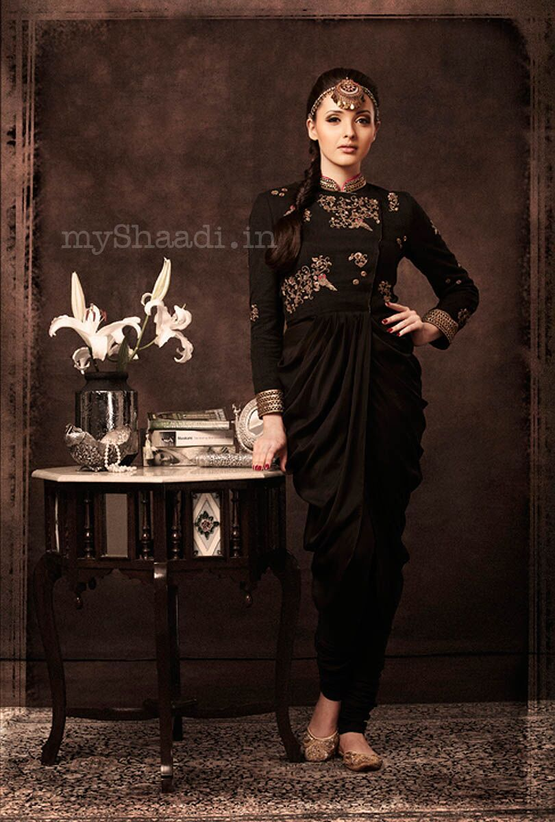 South asian wedding dresses  myShaadi ue Indian Bridal Wear by TISHA  Indian u Fashion