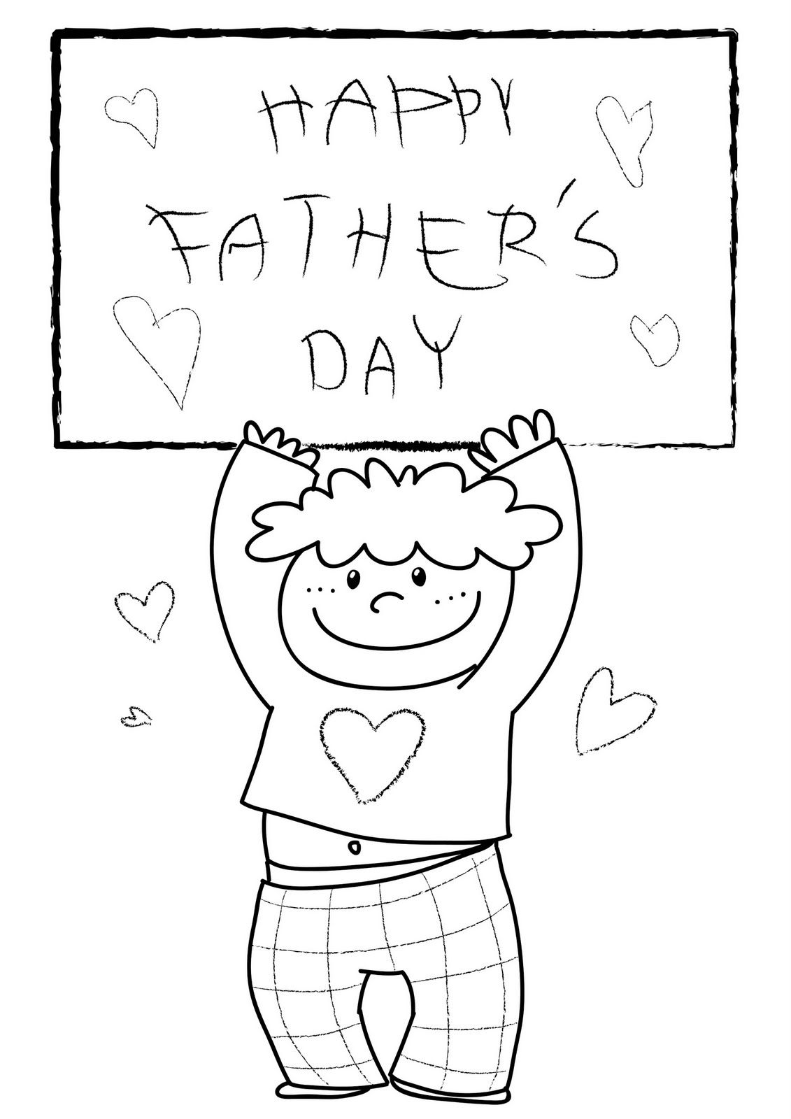 Happy Fathers Day Coloring Pages Check Out Free Printable Happy Fathers Day Dad Coloring Pages For