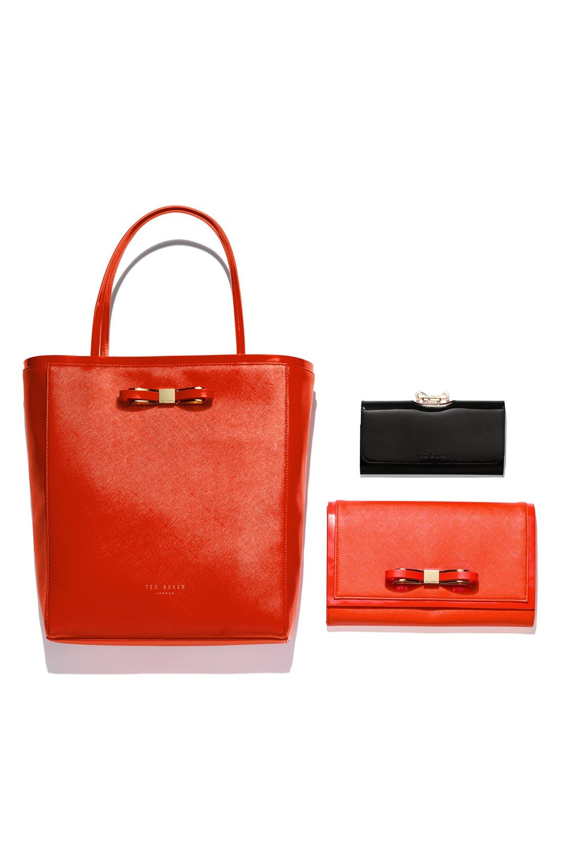 Crushing On Everything With A Bow Ted Baker Red Tote Anniversary
