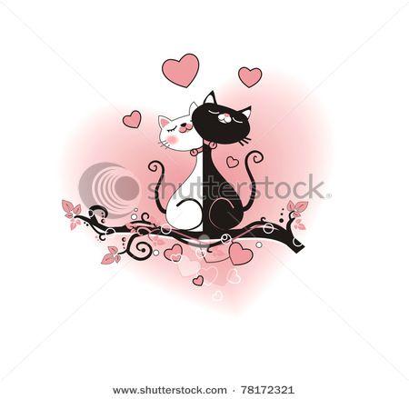 Фото любящих и влюбленных всегда позитивны — кошек это тоже ...   439x450
