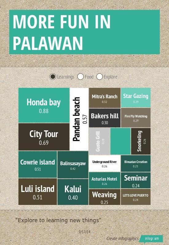 Infographic: More Fun in Palawan -