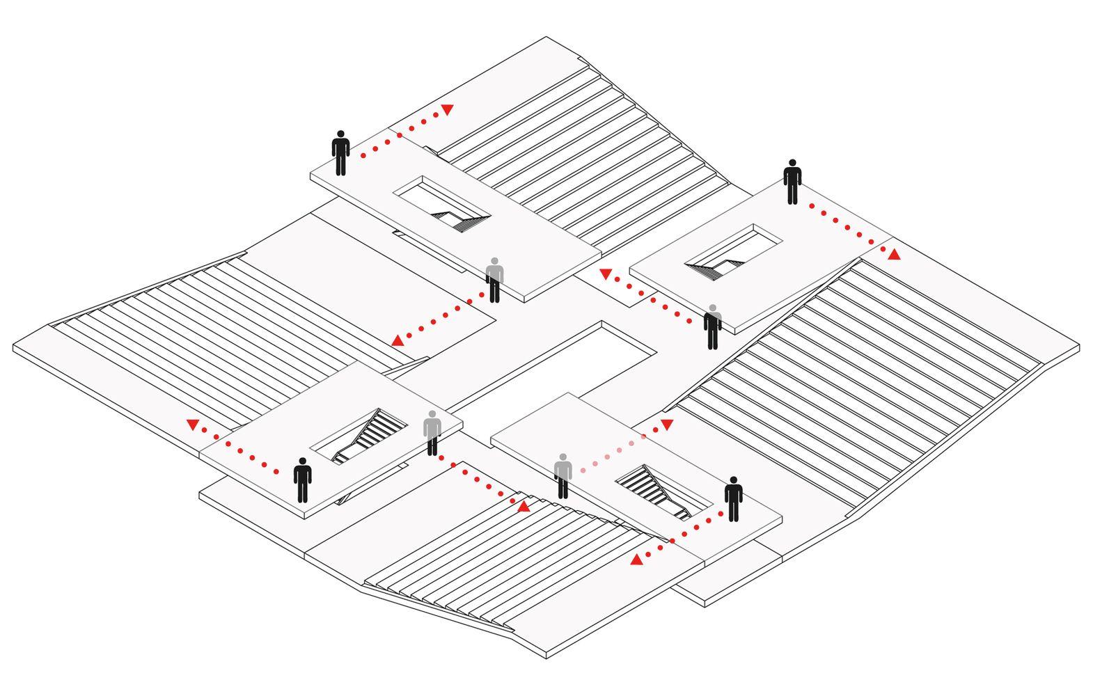 Gallery Of Building O University Of Antwerp Auditorium And Research Building Winning Proposal Meta Architectuurbureau 6 University Architecture Architecture Drawing Diagram Architecture