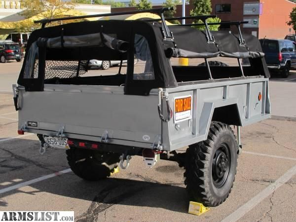 Off Road Trailers For Sale Used >> Armslist For Sale Custom M101 Trailer Bug Out