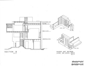 Must Know Modern Homes The Lovell Beach House Architectural Section Beach House Plans Modern House