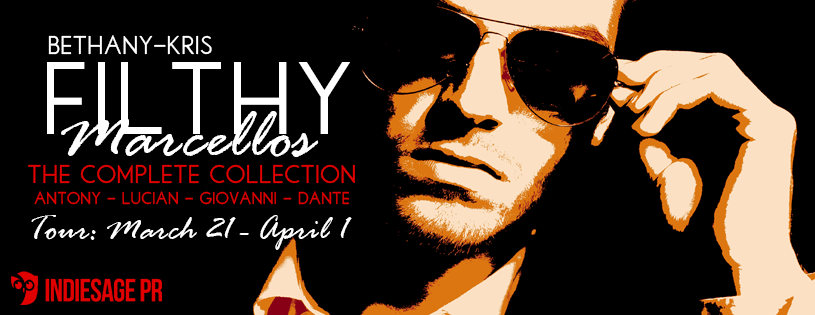 Filthy Marcellos: The Complete Collection Tour signups: http://indiesage.com/filthy-marcellos-the-complete-collection-by-bethany-kris/