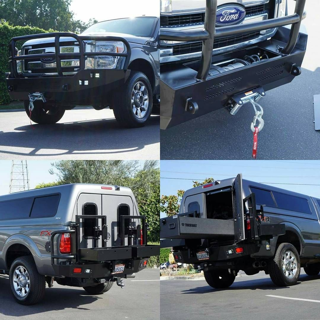 American Camper Shells Build Of An F350 With #aluminess
