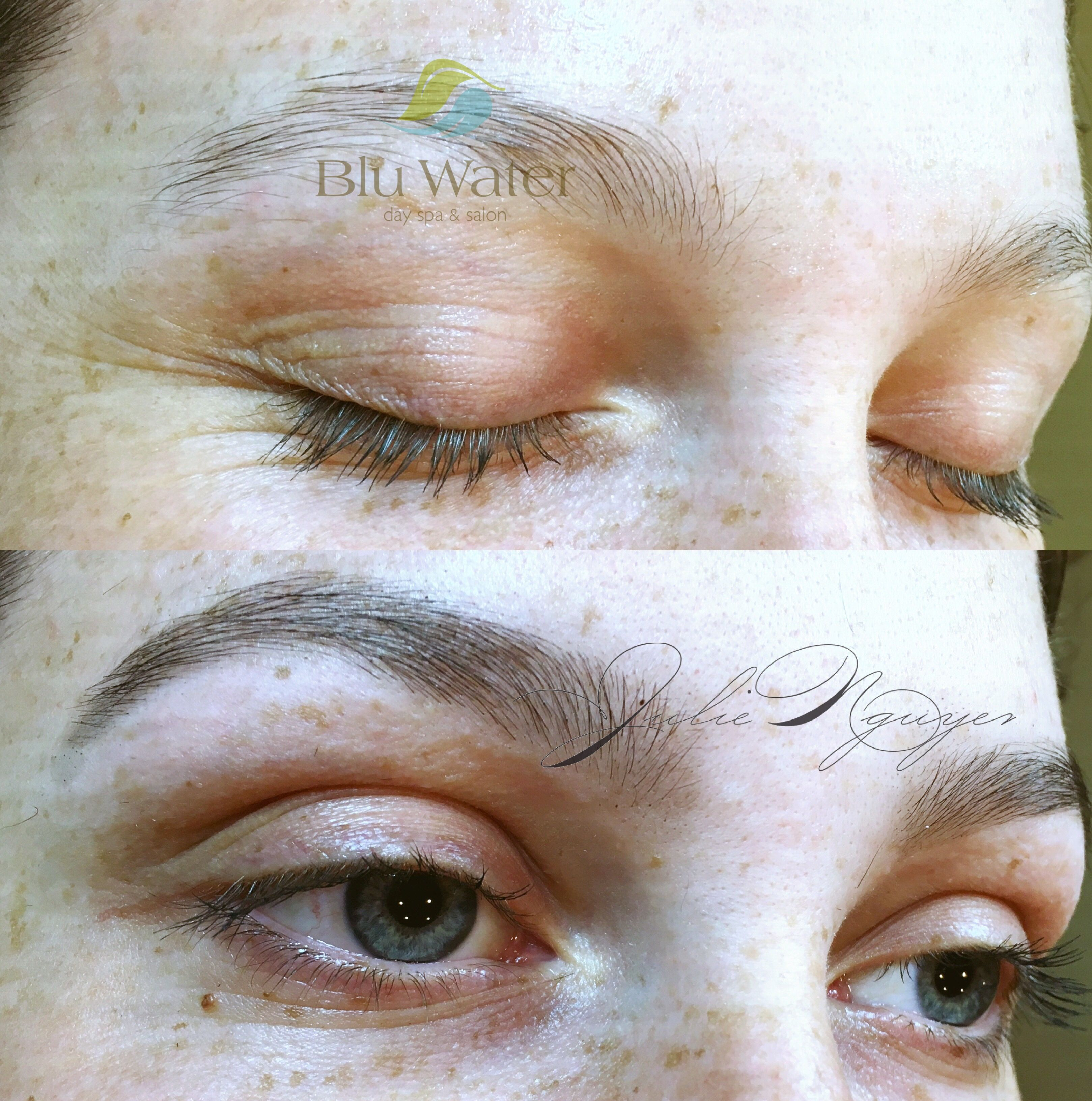 Pin by Blu Water Day Spa & Salon on Eyebrow design with