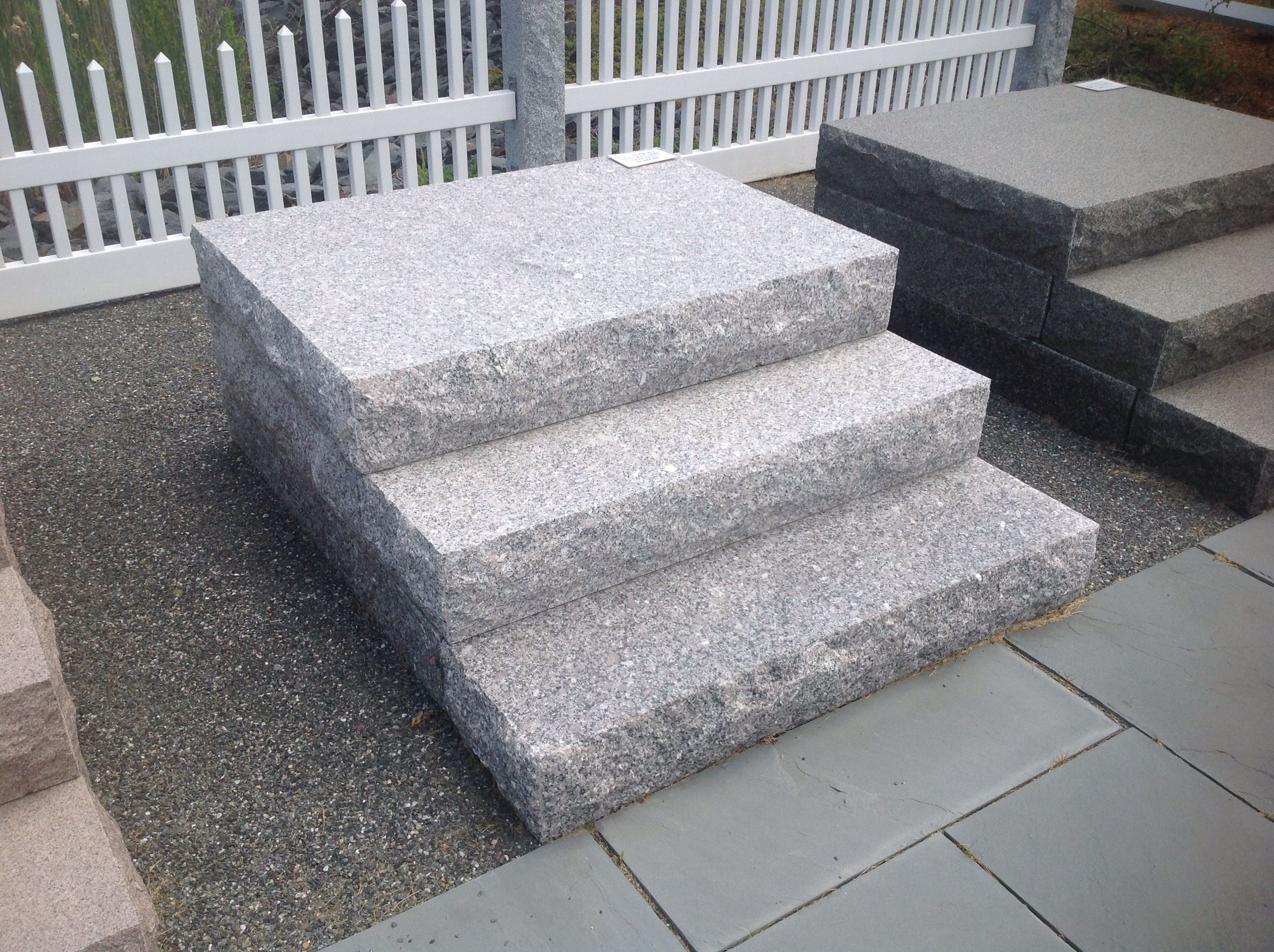 Superbe Granite Steps