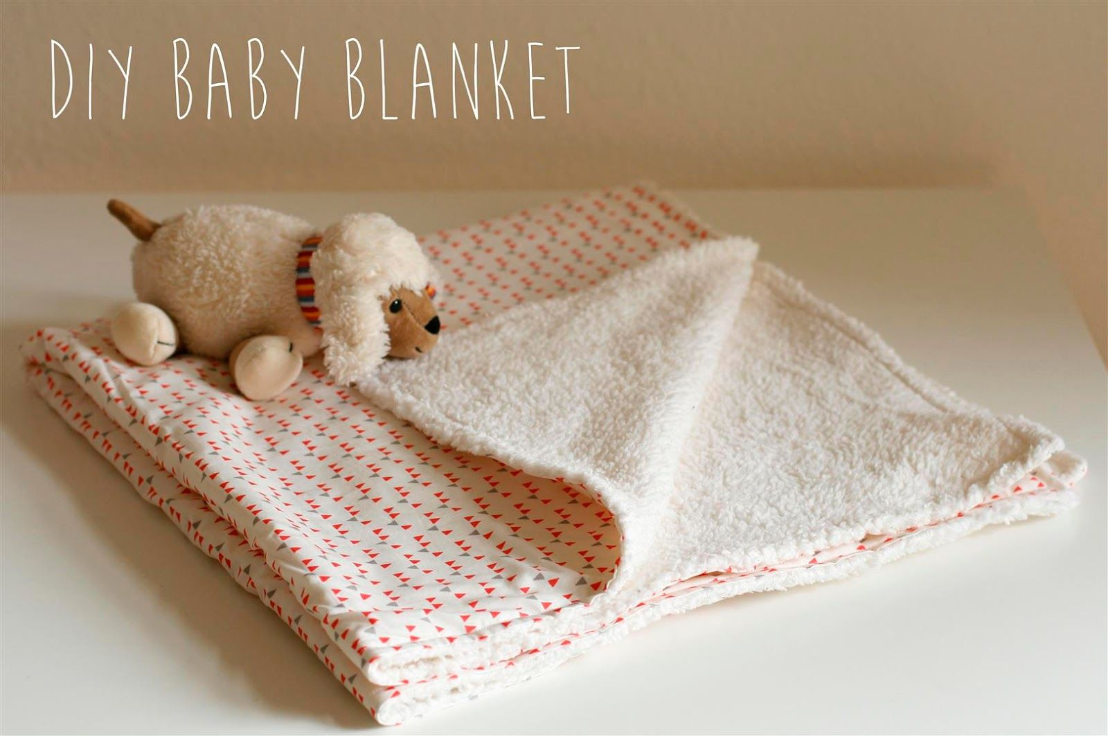 einfache babydecke selber n hen n hen pinterest babydecken selber n hen und n hen. Black Bedroom Furniture Sets. Home Design Ideas