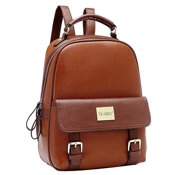 Backpacks for Women,RAVUO Fashion Pu Leather Backpack Ladies Lightweight Girls Backpack Casual Schoolbags Travel Daypack