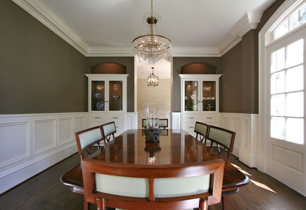 Delightful Dining Room Moulding Ideas Part - 4: Dining Room Wainscoting Moulding Design, Pictures, Remodel, Decor And Ideas