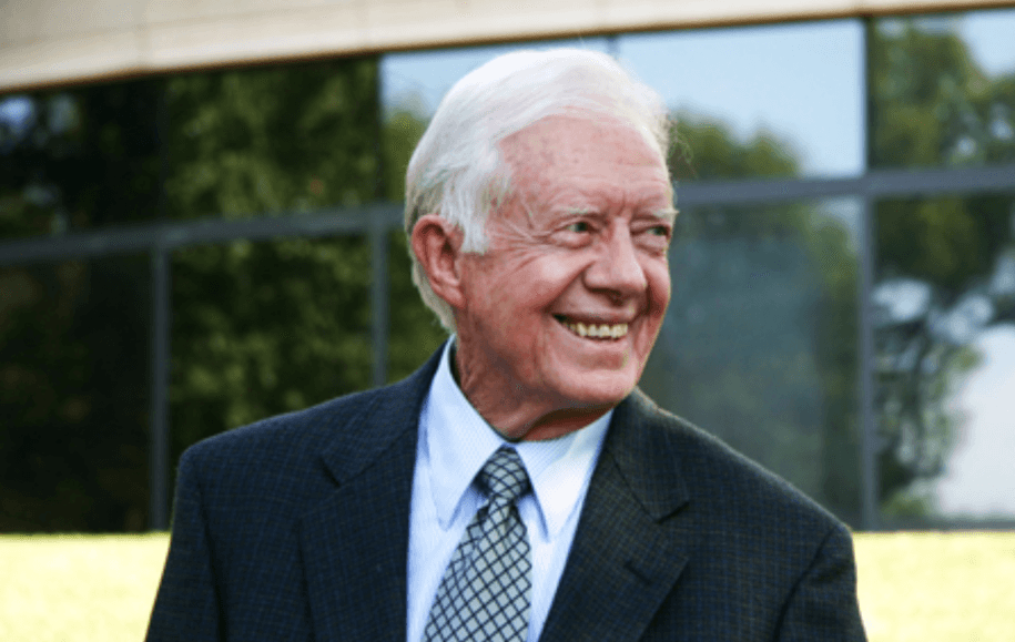 The Grammy Awards just announced America's 39th president of the United States Jimmy Carter has won a Grammy for his ...