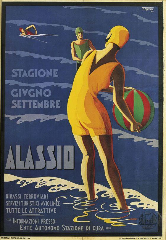 Filippo Romoli    Alassio, 1929    Eredi Romoli, in comodato presso Wolfsoniana –   Fondazione regionale per la Cultura e lo Spettacolo, Genova www.mart.tn.it/andataericordo