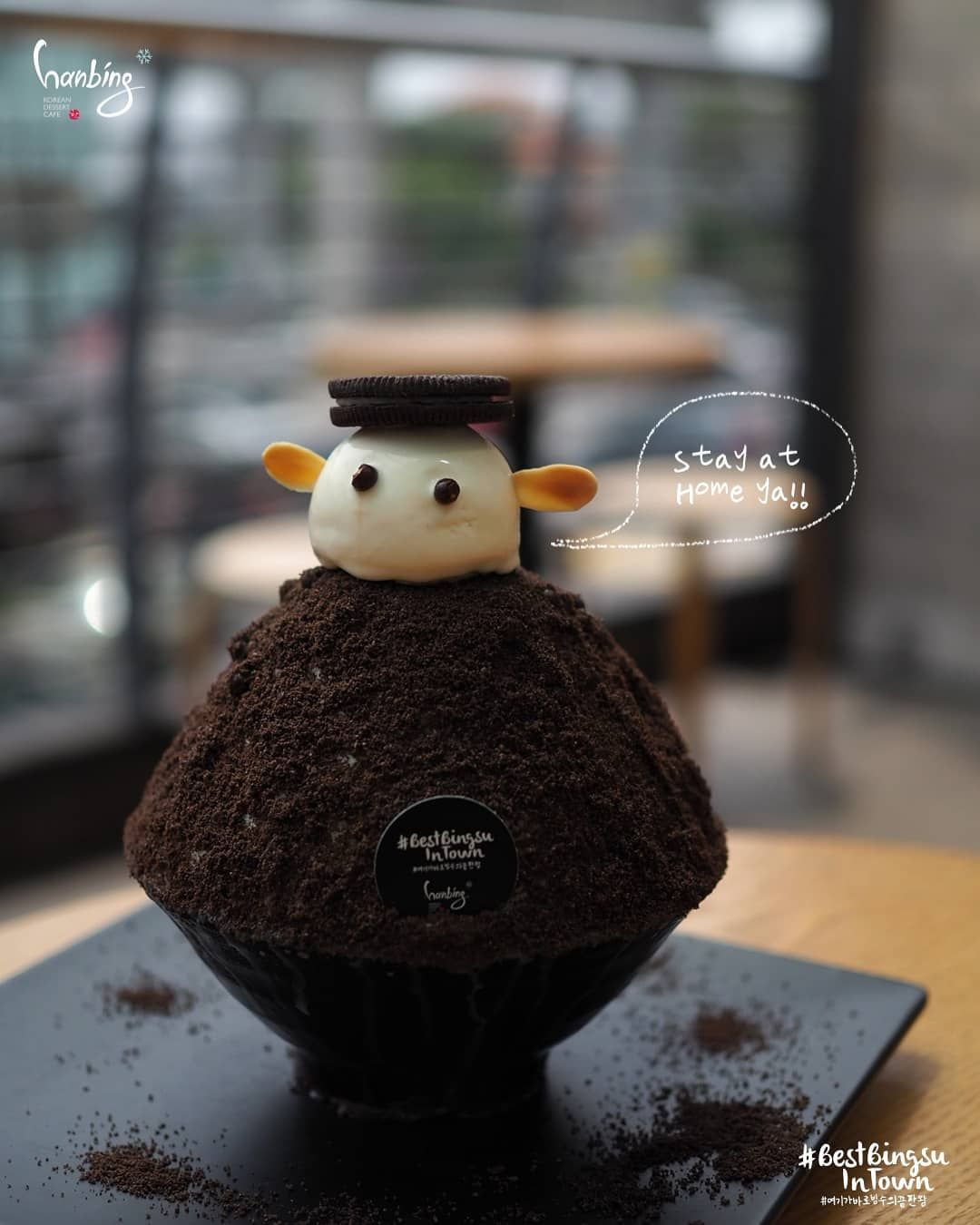 Hanbing Korean Dessert Cafe On Instagram We Hope You Re All Well And Safe Our Oreo Snow Will Be Here For You S In 2020 Korean Dessert Cafe Korean Dessert Desserts