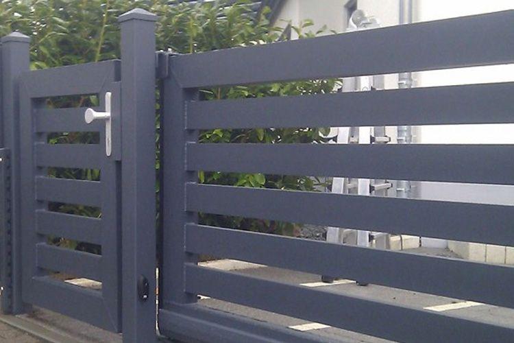 Pin Von Exclusivzaun Auf Www Exclusiv Zaun De Aluminium Zaun Gartenturen Zaun Kaufen