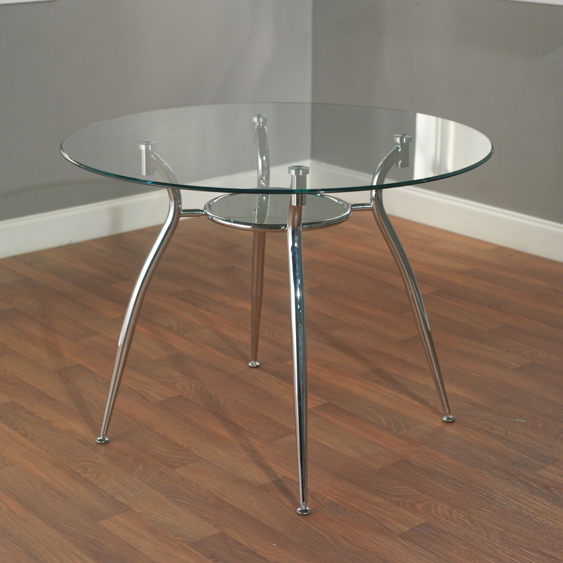 Overstock Com Online Shopping Bedding Furniture Electronics Jewelry Clothing More Glass Round Dining Table Glass Dining Table Metal Dining Table [ 1900 x 1900 Pixel ]