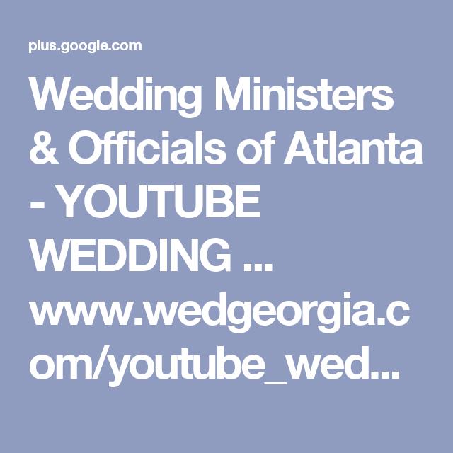Wedding Ministers & Officials Of Atlanta
