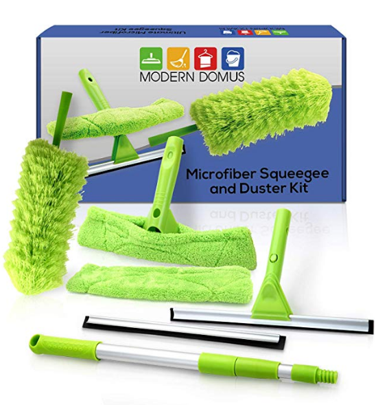 Amazon Teleextend Squeegee Window Cleaner Kit Shower Squeegee Window Cleaning Tools Car Windshield Tool And Window Cleaning Tools Window Cleaner Squeegees