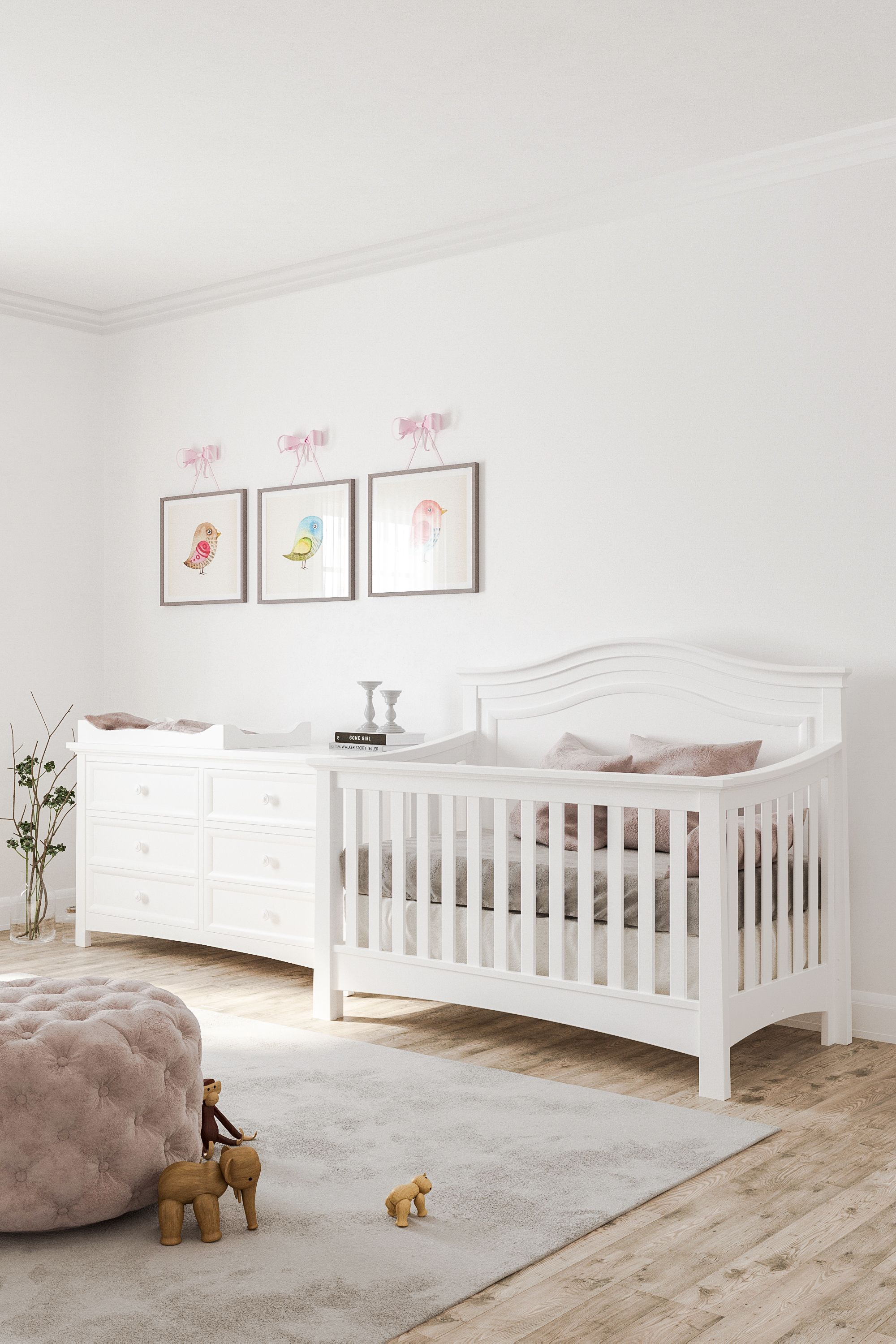 Serena Convertible Crib (With images) | Convertible crib ...