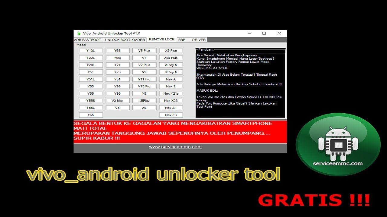 Vivo Android Unlocker Tool Tool Unlock Bootloader Vivo Gratis