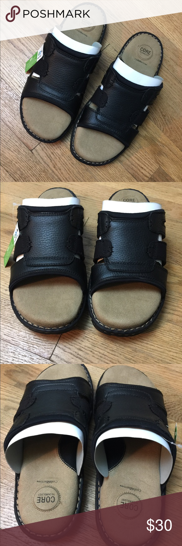 b0fb7c188ea8 Croft and Barrow Men s Clyde Slide Style Sandals New in box men s slide  style sandals by