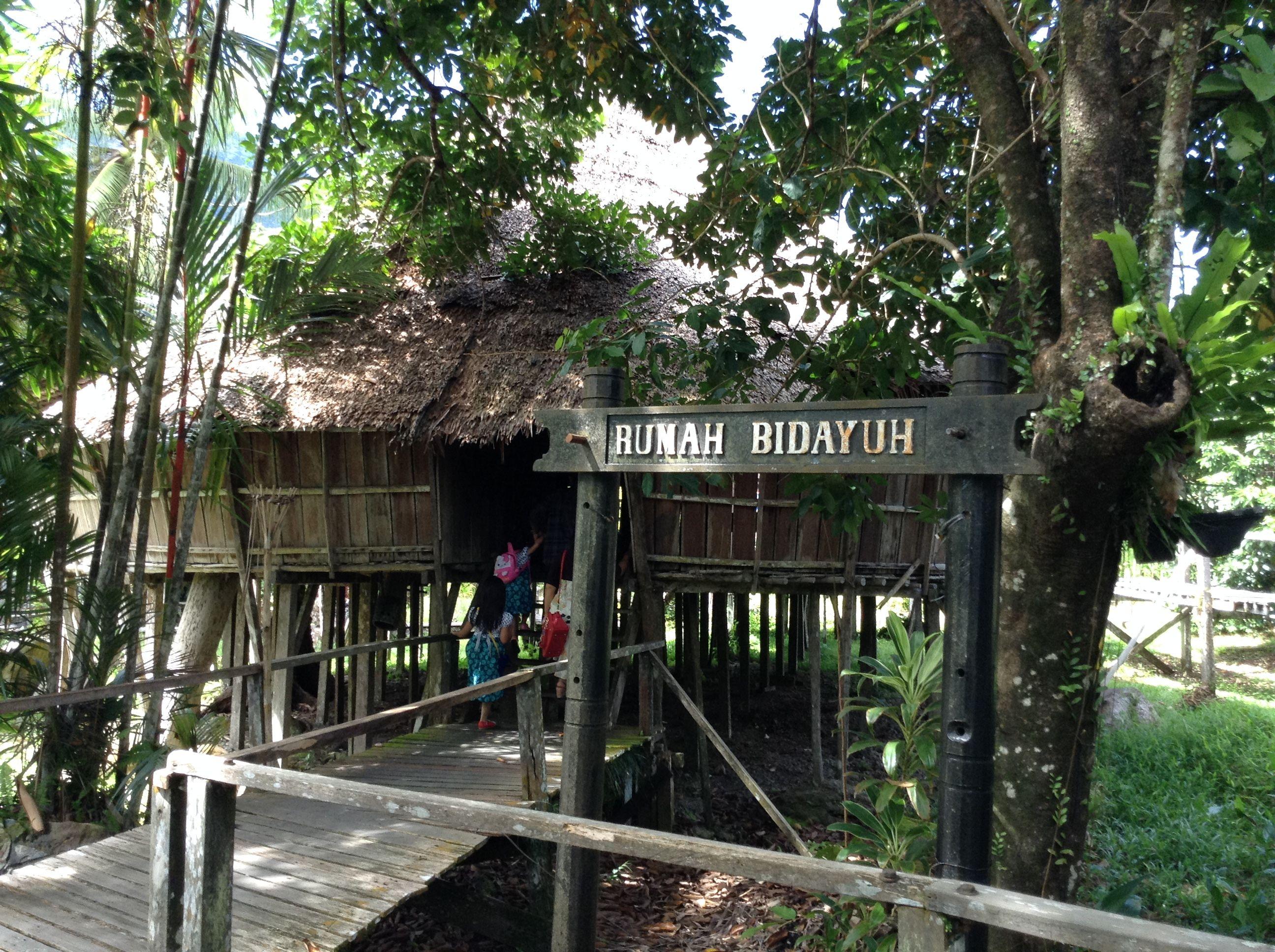 Bidayuh Traditional Longhouse Sarawak Cultural Village