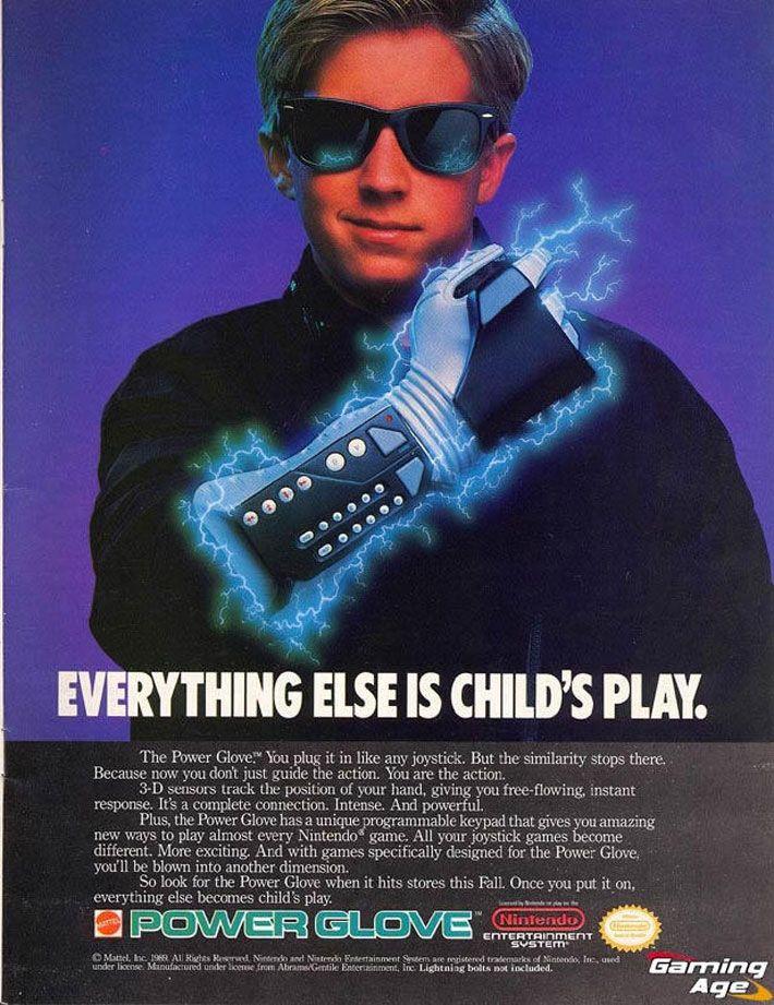 I Love The Power Glove. It's So Bad. Power glove, Retro