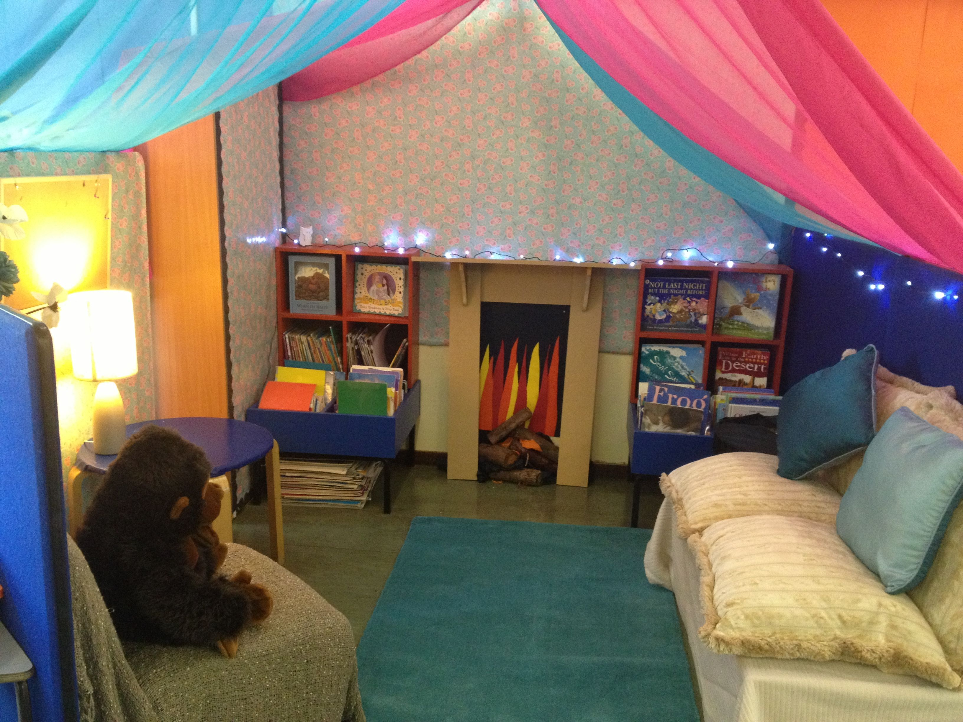 Classroom Ideas Year One : Cozy reading dens like this will entice any little one