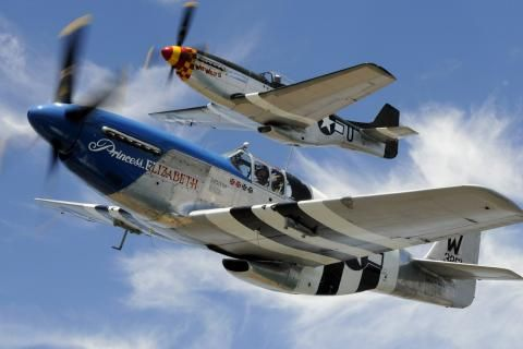 P 51 Mustang Warbird Aircraft 1920x1080 Hd Wallpaper Free Hq