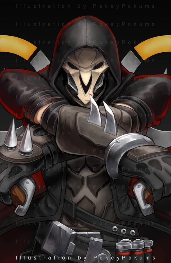 Overwatch Reaper By Pokeypokums On Deviantart Overwatch Reaper Overwatch Overwatch Fan Art