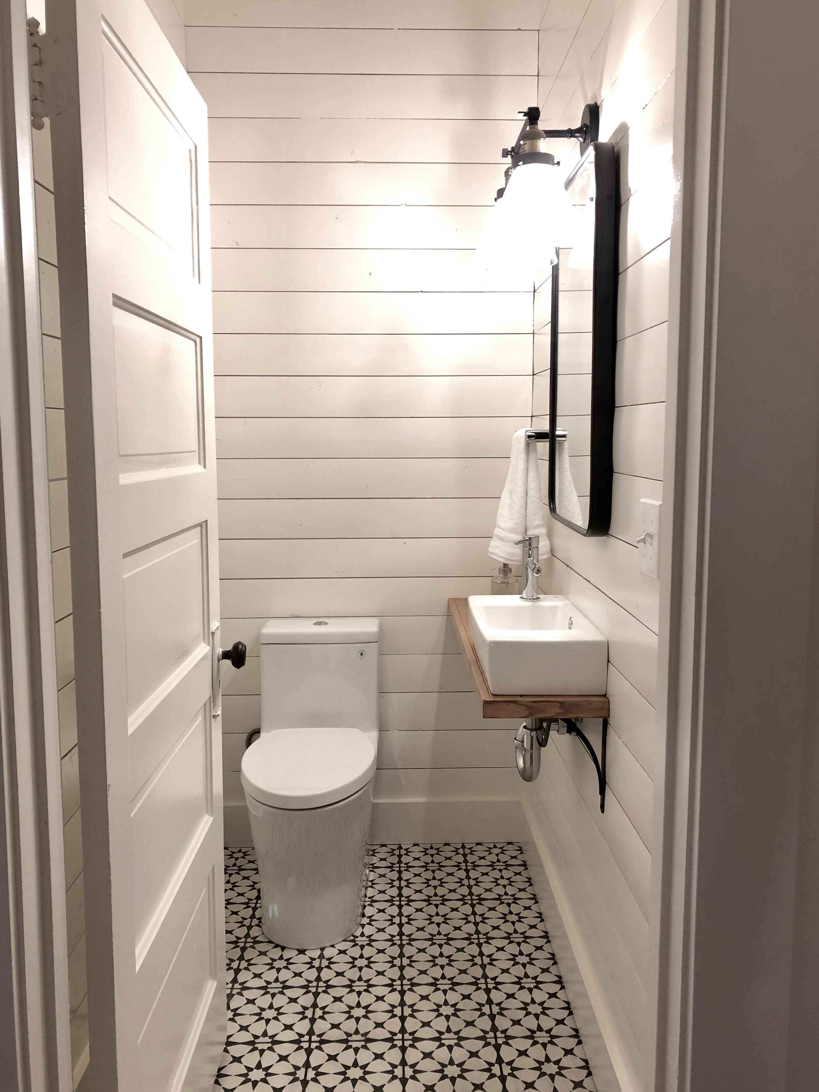 One Room Challenge Week One Tiny Powder Room Makeover Ideas