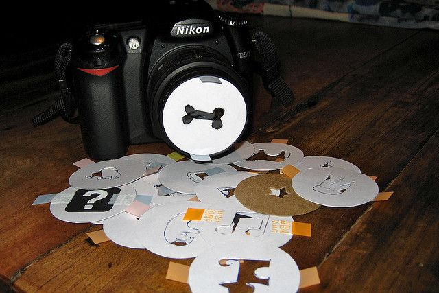 Making some bokeh by Ethnocentrics, via Flickr