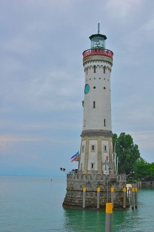 The lighthouse of Lindau, Germany by paalia, via Flickr by carter flynn