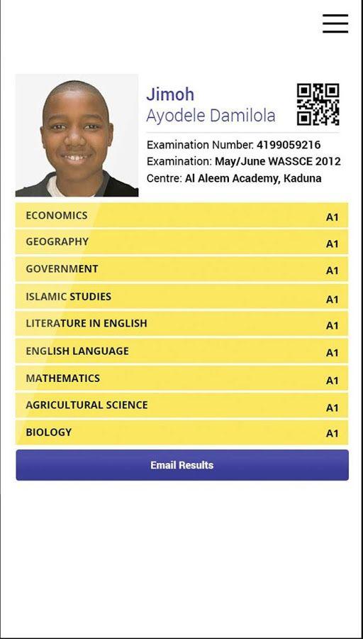 WAEC result checker application | WAEC Result in 2019