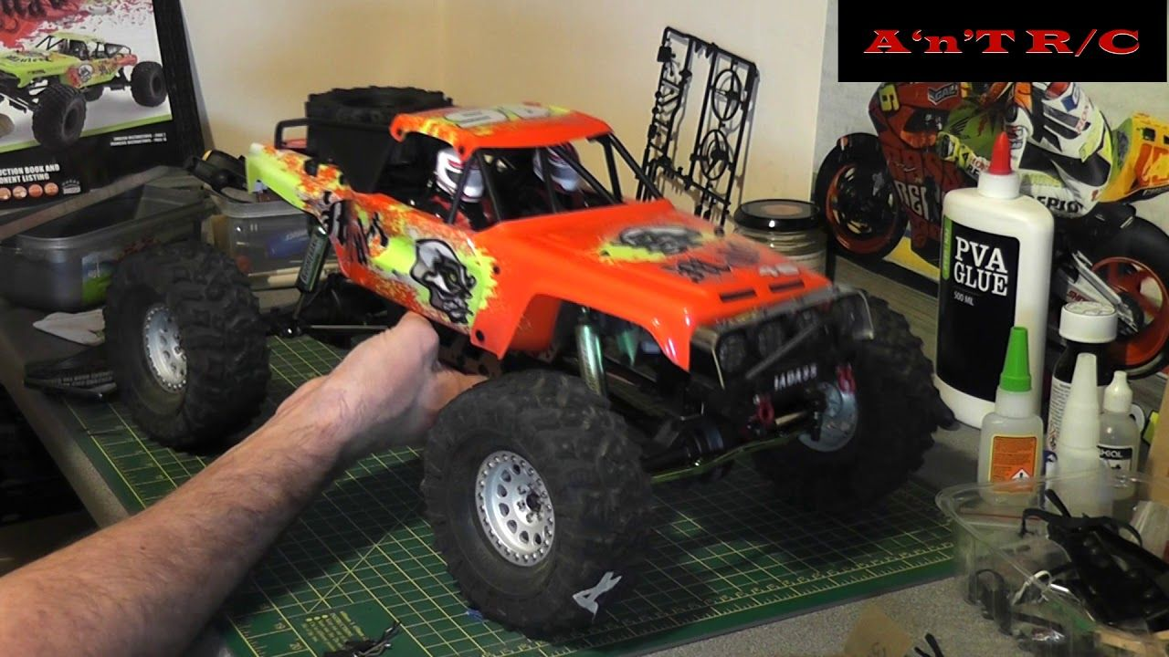 A look around Andrew's FTX Mauler Monster trucks, Rc