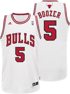 1cb28b6f471 Carlos Boozer Jersey  adidas Revolution 30 White Swingman  5 Chicago Bulls  Jersey  89.99